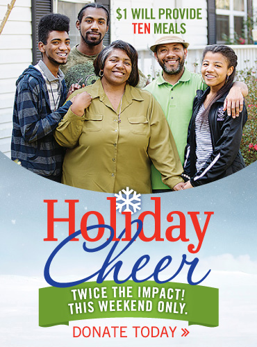 Holiday Cheer Double Impact - Donate Now
