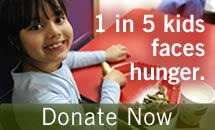 donate to help children facing hunger