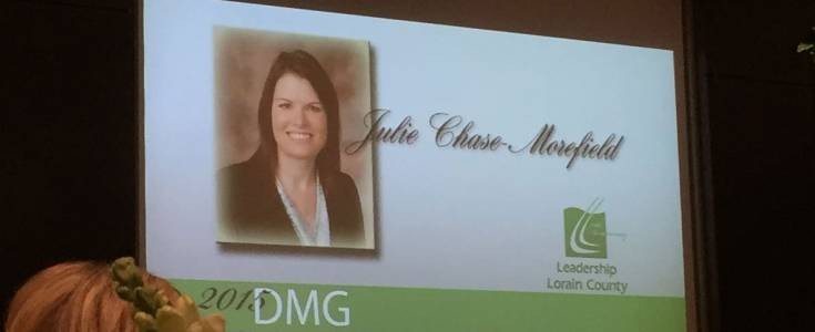 Julie Chase-Morefield Honored as Lorain County Difference Maker